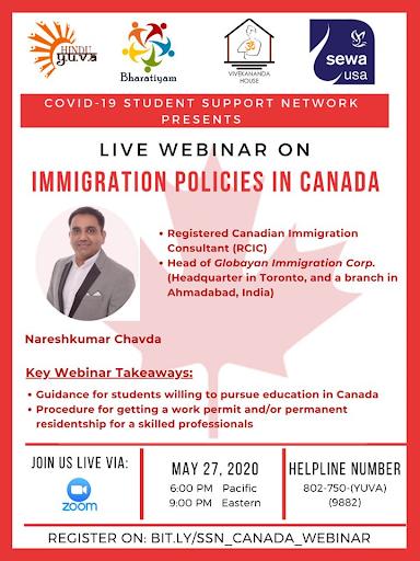 Webinar – Immigration Policies in Canada
