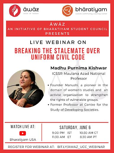 Webinar – Uniform Civil Code Stalemate