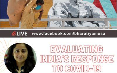 Evaluating India's Response to Covid-19 – Prof. Shamika Ravi